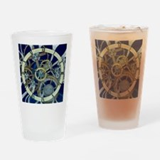 Cogs and Gears Drinking Glass