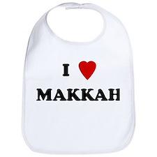 I Love Makkah Bib