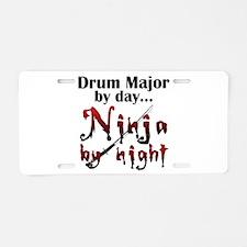 Drum Major Ninja Aluminum License Plate