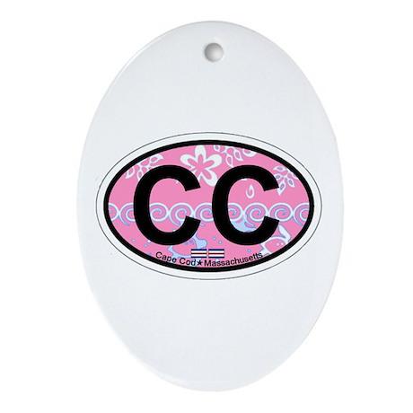 Cape Cod MA - Oval Design Ornament (Oval)