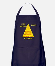 New Mexico Food Pyramid Apron (dark)