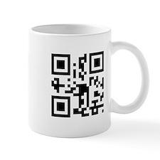 """Get a life!"" QR code Mug"