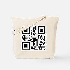 """""""Get a life!"""" QR code Tote Bag"""