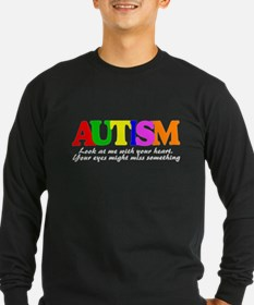 See autism with your heart T