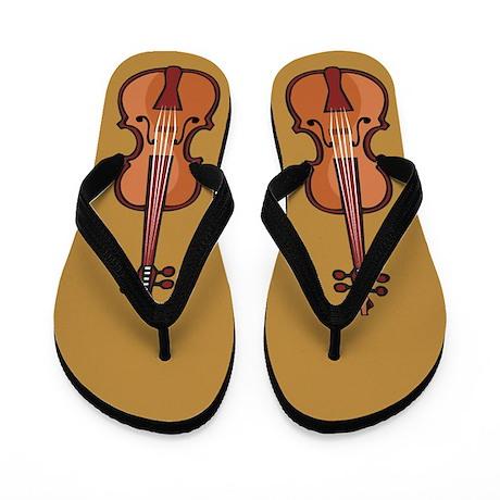 I Play Violin Flip Flops
