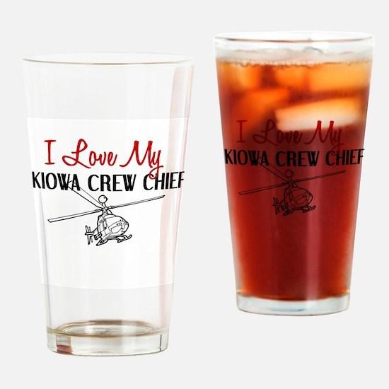 Kiowa Crew Chief Drinking Glass