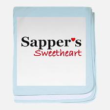Sapper's Sweetheart baby blanket