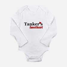 Tanker's Sweetheart Long Sleeve Infant Bodysuit