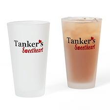 Tanker's Sweetheart Drinking Glass