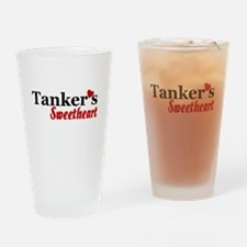 Tanker's Sweetheart Drinking Glass