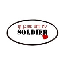 In Love Soldier Patches