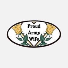 Yellow Rose - Army Wife Patches