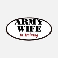 Army Wife in training Patches