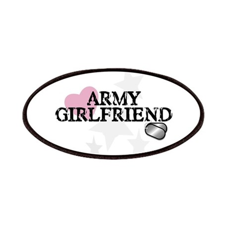 Army Girlfriend (distressed) Patches