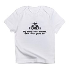Daddy Flies Apaches Infant T-Shirt