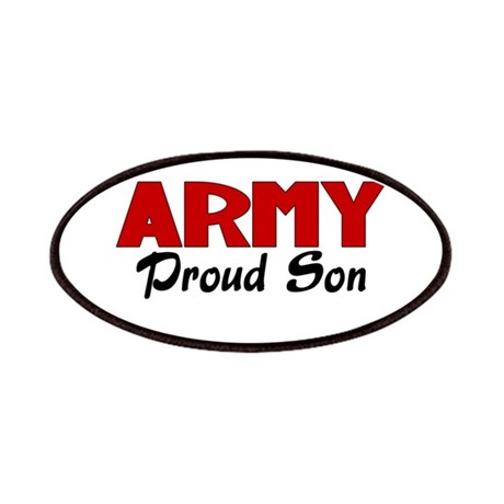 Army Son (red) Patches