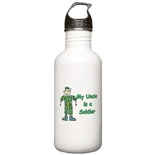 My Uncle is a Soldier Water Bottle