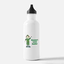 Mommy's Little Soldier Water Bottle
