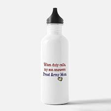 When Duty Calls - Mom Water Bottle