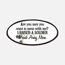 Raised a Soldier - Mom Patches