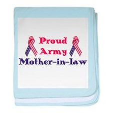 Army Mother-in-law (RWB) baby blanket