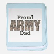 Proud Army Dad (ACU) baby blanket