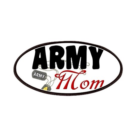 Army Mom Dog Tags Patches