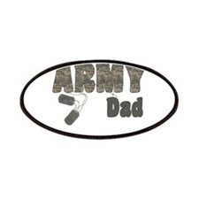Army Dad (tags) Patches