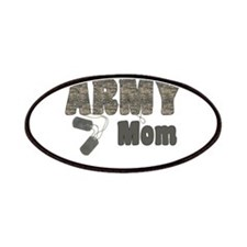 Army Mom (tags) Patches