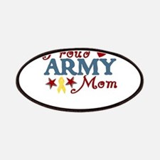 Proud Army Mom Collage Patches