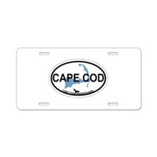 Cape Cod MA - Oval Design Aluminum License Plate