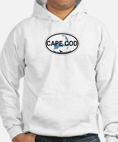 Cape Cod MA - Oval Design Jumper Hoody