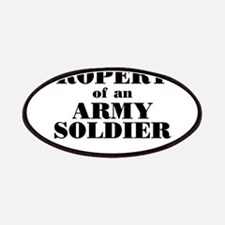 Property of an Army Soldier Patches