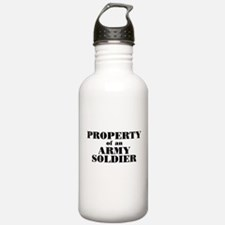 Property of an Army Soldier Water Bottle