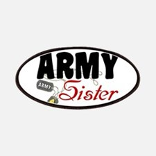 Army Sister Dog Tags Patches