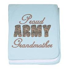 ACU Army Grandmother baby blanket