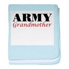Army Grandmother baby blanket