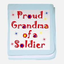 Grandma Colorful baby blanket