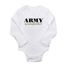Army Grandfather Long Sleeve Infant Bodysuit