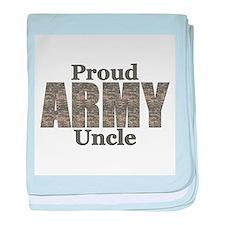 Proud Army Uncle (ACU) baby blanket