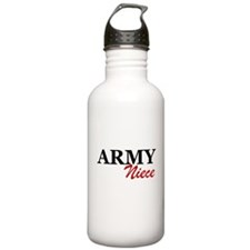Army Niece Water Bottle