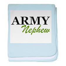 Army Nephew baby blanket