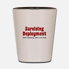 Cool Deployment Shot Glass