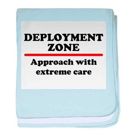 Deployment Zone - 10 baby blanket