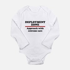 Deployment Zone - 10 Long Sleeve Infant Bodysuit