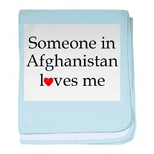 Someone in Afghanistan... baby blanket