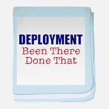 Deployment BTDT baby blanket