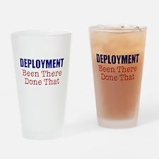 Deployment BTDT Drinking Glass