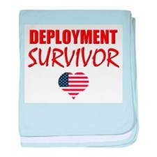 Deployment Survivor baby blanket