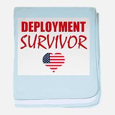 Deployment Survivor baby blanket